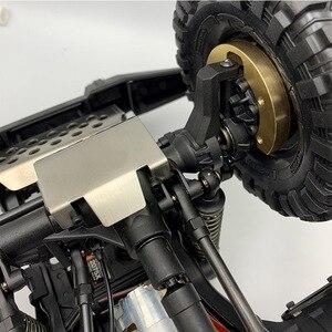 Image 5 - Boîtier portail de lecteur, contre poids en laiton, 2 pièces, 82g/pièce TRX4, pour voitures de chenille 1/10 RC Traxxas TRX 4 pièces
