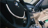 ABS Steering Wheel Cover Trim For BMW 5 series F10 5GT F07 2011 2015