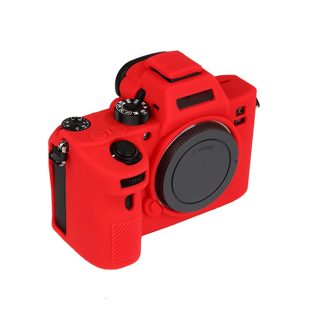 US $25 32 35% OFF|Soft Silicone Case for SONY A73 A7RM3 A7R3 III A73 A7M3  A7III Protective Cover Shell Case for Mirrorless Digital Camera-in Sports