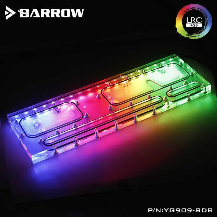 Barrow YG909-SDB, Corso D'acqua Schede Per INWIN 909 Caso, per Intel CPU Water Block & Single/Dual GPU/Pompa di Costruzione