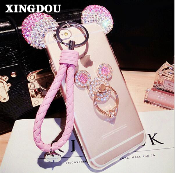 Xingduo For Samsung Note 3 4 5 7 S5 S6 S7 Edge Plus Mickey