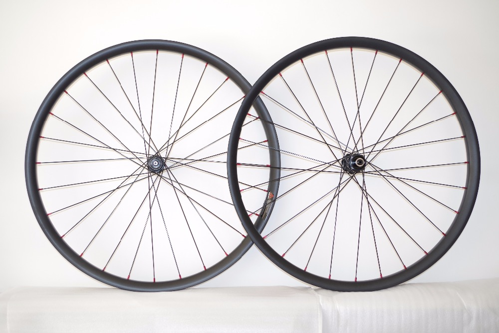 DEERACE 28/28H 27.5ER 29ER MTB wheels 23.5mm 35mm center lock straight pull disc wheelset Tubeless 350s hubs sapim cx-ray spoke