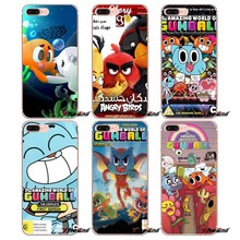 For Xiaomi Redmi 4 3 3S Pro Mi3 Mi4 Mi4i Mi4C Mi5 Mi5S Mi Max Note 2 3 4 Cover Coque The Amazing World of Gumball Season Case(China)