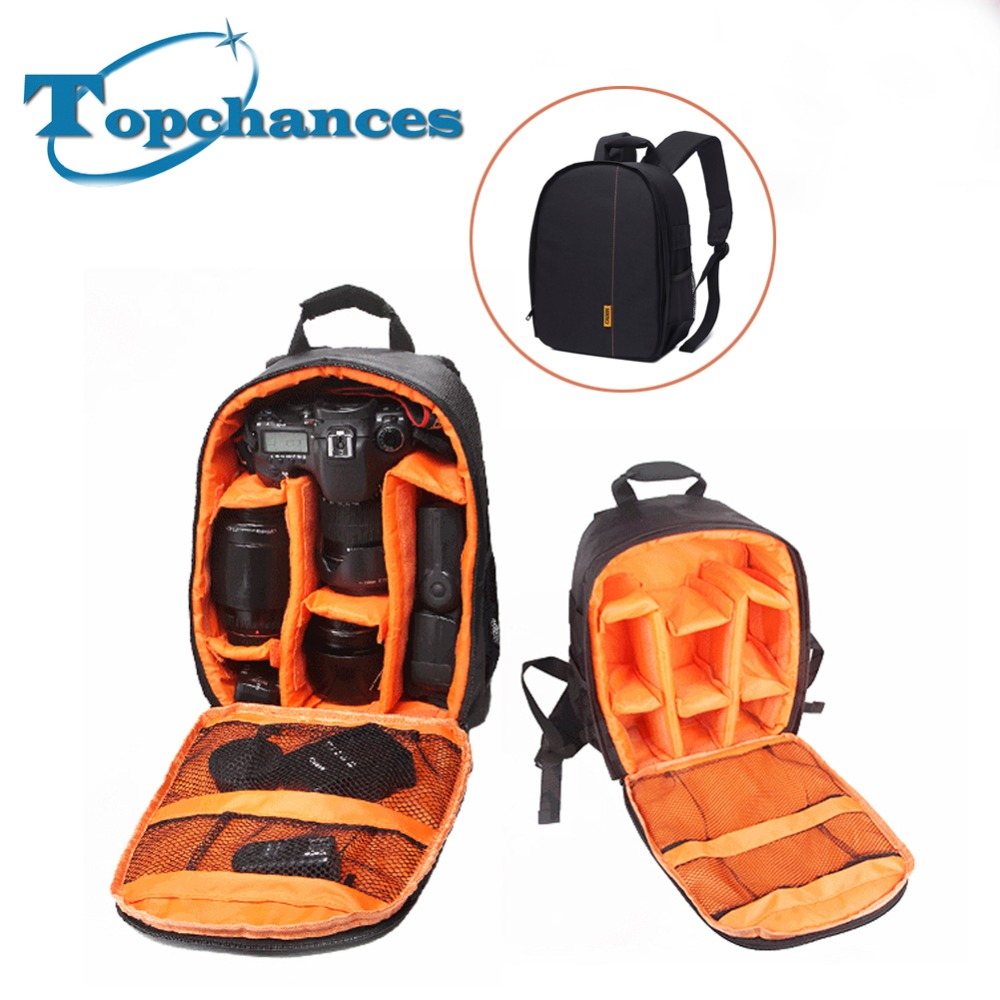 Waterproof High quality New Pattern Camera Bag Backpack Video Photo Bags Small Compact Camera Backpack