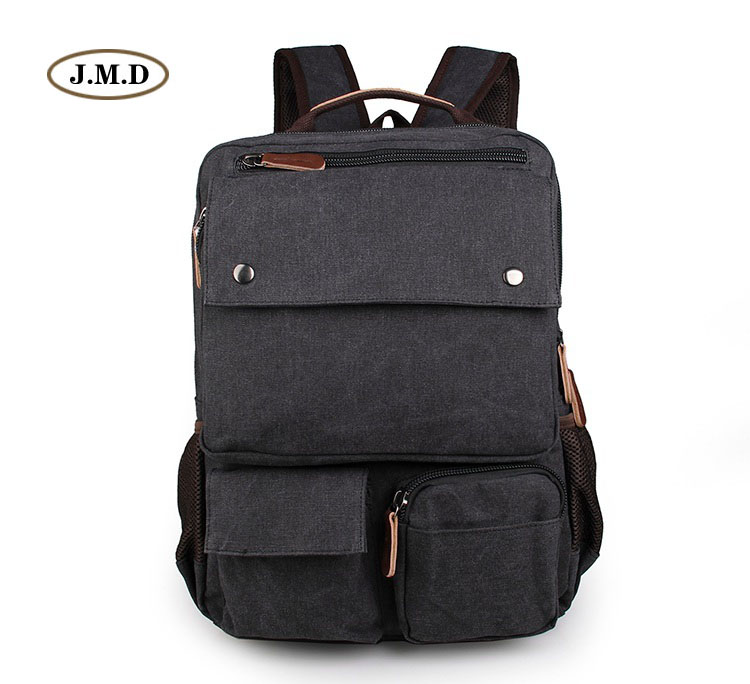 J.M.D Fashion Canvas Bookbag Travel Backpack College Student School Preppy Style Backpack Bags Backpack Rucksack 9022A/B/N/K