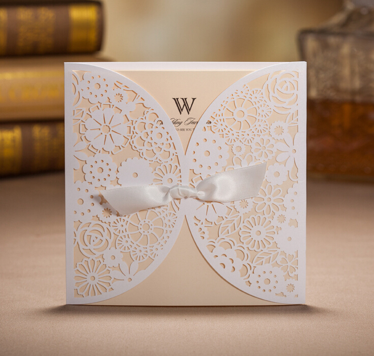 Compare Prices on Laser Cut White Wedding Invitation Cards in Usa