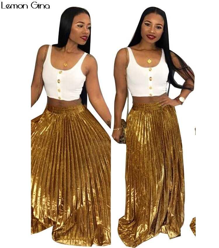 e274b3847e ... 2018 new winter autumn women sexy pleated velvet floor length long maxi  skirts party fashion skirt ...