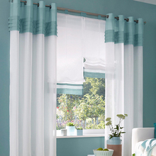 Window Tulle Curtain Translucidus Valance Window Panel Sheer Curtain for Living Room Drape Panel Valance Tulle Sheer Curtain window door curtain valance drape panel sheer tulle window screening tulle curtain for living room valance tulle sheer curtain
