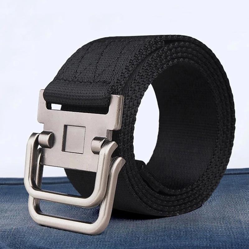 MEDYLA Rushed Direct Selling Striped Adult Cintos Femininos   Belts   Men   Belt     Belt   Man Canvas Lengthen Strap Personality Male Nylon