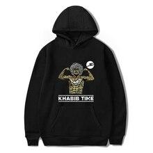 LUCKYFRIDAYF New Kpop khabib Nurmagomedov Idol Unisex Member Piture Fashion Warm Women Hoodies Sweatshirt Hip Hop Clothes