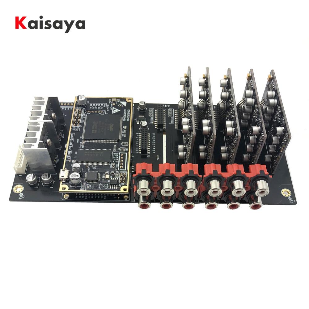ADSP21489 Development Board ADC PCM1804 Input Board+DAC PCM1798 Output Board 4 In 6 Out Processor HIFI Audio DIY B4-007