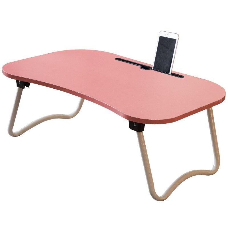 Тетрадь компьютерный стол Портативный Регулируемая Складная ноутбука Тетрадь Lap PC складной стол деревянный ...