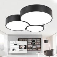 Creative LED Ceiling Light Modern Minimalist Living Room Light Bedroom Study Lighting Lamparas De Techo Lamp
