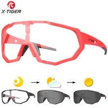 e37e18fb95 X-TIGER fotosensibles bicicleta gafas deportes al aire libre MTB bicicleta  gafas de sol gafas