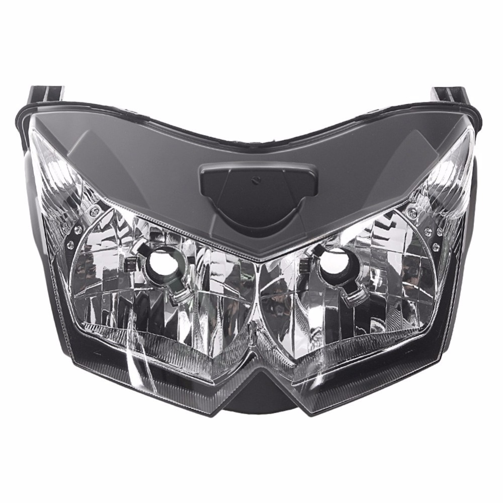 Headlight For 07 09 Kawasaki Z1000 Z 1000 Motorcycle Front Lamp Assembly Upper Headlamp Head Light Housing 2007 2008 2009