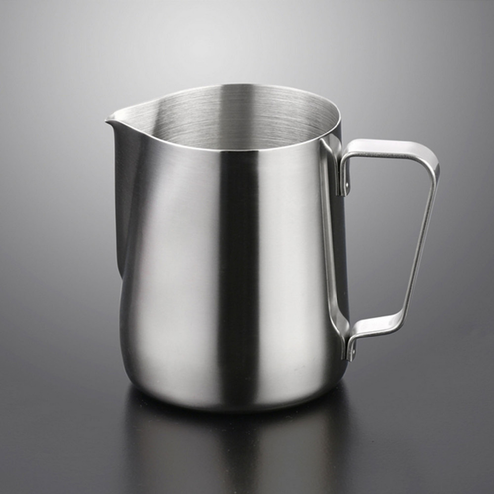 Behokic 150ml Stainless Steel Coffee Latte Milk Frothing <font><b>Cup</b></font> Pitcher Jug for Espresso Coffee <font><b>Coffe</b></font> Milk Frothers Latte Art image