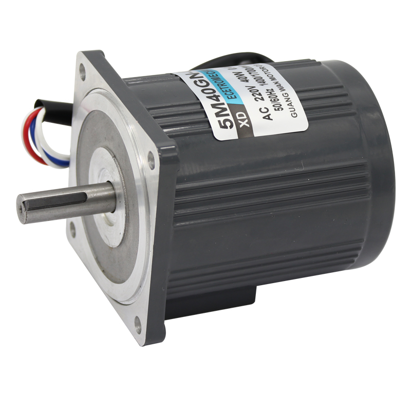220V (AC motor + governor) optical axis high speed motor can rotate forward and reverse 40W miniature motor 1400rpm-2800rpm bringsmart 60w ac speed regulating motor 220v miniature optical axis motors 1400 1700 rpm high speed motor with speed governor