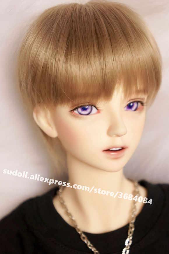 1//4 BJD SD Dolls 17/'/' Handsome Boy Male Doll Resin Bare Doll Eyes Face Makeup