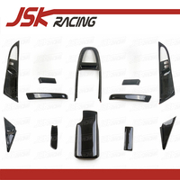2005 2011 CARBON FIBER INTERIORS LHD (12 PCS) FOR CARRERA 911 997 (JSKPCCR05006)