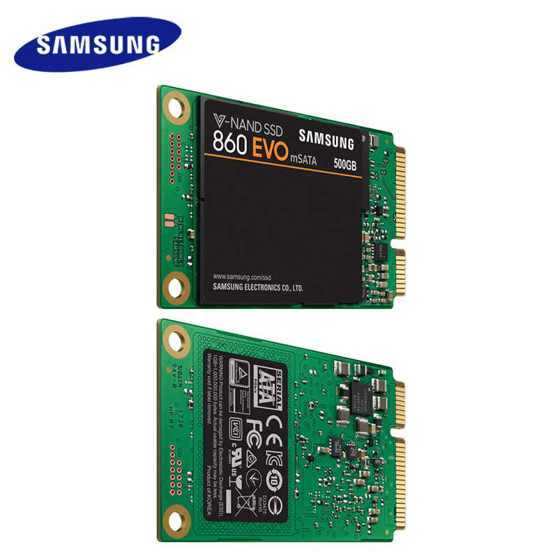 Samsung Internal SSD 860 EVO mSATA 250GB 500GB 1TB Solid State Drive HDD Hard High Speed for Laptop PC Computer Desktop
