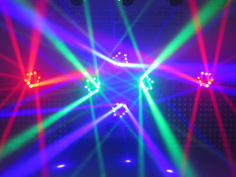 2xLot 9 Eyes LED Spider Beam Light Adj Light With Endless Rotating Stage Light 10/16/43 DMX channels 5 Beam Angle For Party Club-in Stage Lighting Effect ...  sc 1 st  AliExpress.com & 2xLot 9 Eyes LED Spider Beam Light Adj Light With Endless Rotating ... azcodes.com
