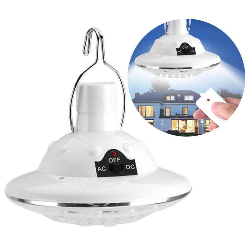 Практичная походная лампа для дома водонепроницаемый пульт дистанционного управления светодиодный спасательная палатка на открытом воздухе лампа ручной контроль преобразования солнечной энергии