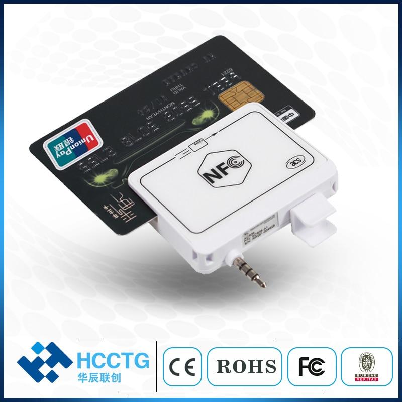 NFC prise audio Magnétique lecteur de cartes/téléphone portable lecteur de carte de crédit avec SDK gratuit