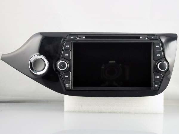 Quad Core 6.0.1 Android dvd player do carro Para 7 KIA CEED 2013-2014 gps bluetooth radio stereo navi câmera DVR 3G Mapa livre