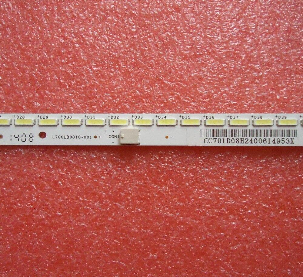 LETV MAX70  025-0001-7058  L700HHA-1   LED Backlight   1pcs=64LED 514mm