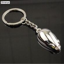 Брелок для ключей мышь-высокое качество металлический брелок для мужчин и женщин подарок ювелирные изделия 17337 без цепи
