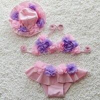 Swimsuit Girl ON Swimsuits Baby Girls Kids Baby Swimwear Tankini Bikini Swimsuit Swimwear Bathing Suit Toddler