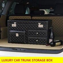 Роскошный внедорожник багажник автомобиля, организатор багажнике коробка для хранения багажник авто сумка для landrover Benz glc Прадо LAND CRUISER Prado bmw x 3x5x6