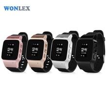 Wonlex 2017 GPS/LBS Tracker Watch for Elderly People Children Wristwatch with SOS Safe Anti Lost Remote Monitoring Watch