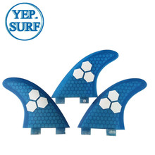 FCS Surf Fins SUP Bboard Fin G5 Honeycomb Tri Quilhas
