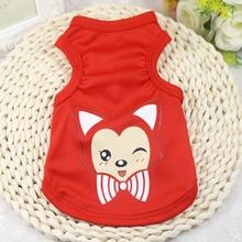 Cartoon Dog T-shirt Soft Summer Shirt Vests