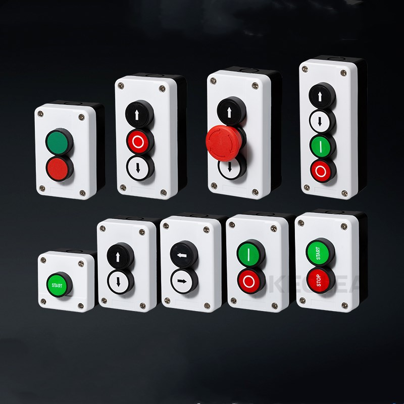 все цены на With arrow symbol start stop self sealing waterproof button switch emergency stop industrial handhold control box