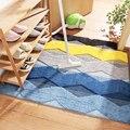 Коврики для ванной с геометрическим дизайном  водопоглощающие  пыленепроницаемые коврики  большие коврики для ванной  современный напольн...