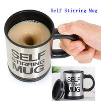 400ml Mug Automatic Electric Lazy Self Stirring Mug Automatic Coffee Milk Mixing Mug Tea Smart Stainless