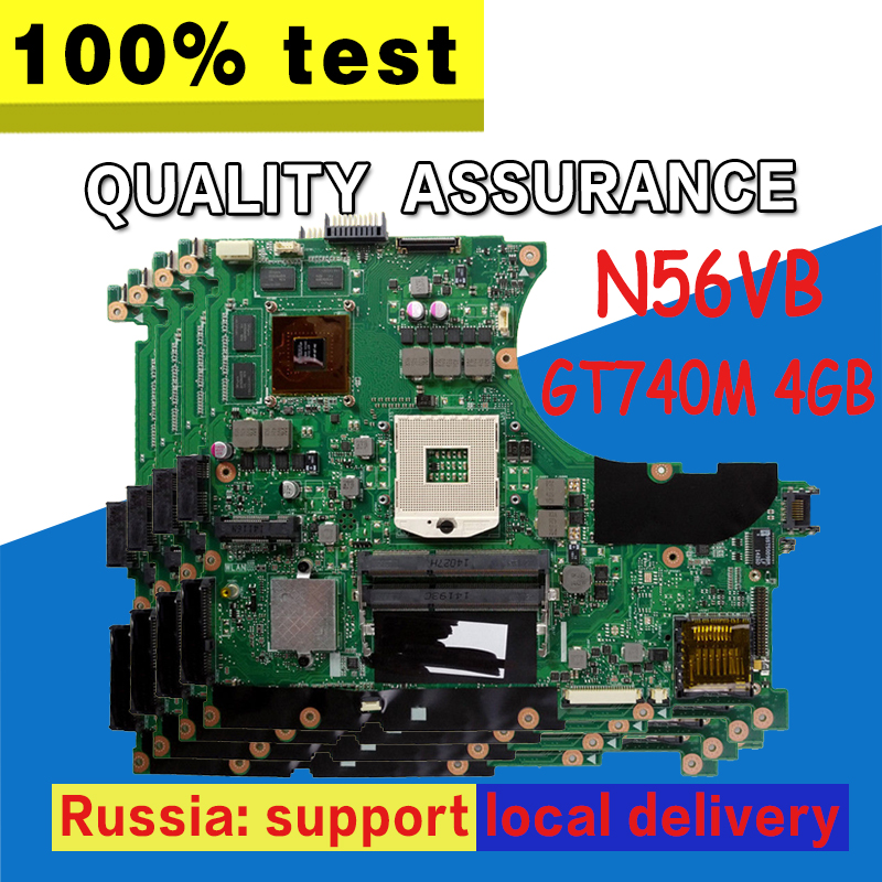 N56VB Motherboard GT740M 4g REV 2.3 For ASUS N56VB N56VM N56VJ N56VZ N56VV Laptop motherboard N56VB Mainboard N56VB MotherboardN56VB Motherboard GT740M 4g REV 2.3 For ASUS N56VB N56VM N56VJ N56VZ N56VV Laptop motherboard N56VB Mainboard N56VB Motherboard