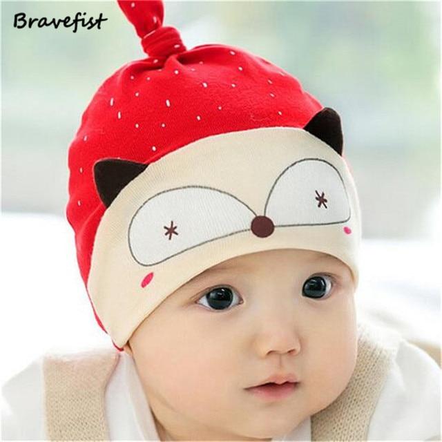 f19fc1f03451 3 12Months Spring Autumn Children s Hat Baby Cotton Cap Head Cap New ...