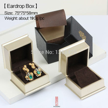 The High-grade Export Goldenhoop Earring pendant Box The Jewellery Gift Case For Dangle Earring Or Stud Earring
