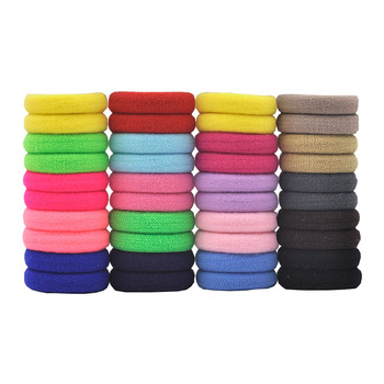 Aikelina 50 Pcs/LOT hair accessories FOR girls and kids RUBBER BANDS BLACK WHITE 2017 The ponytail holder Elastic Hair Bands