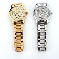 Men S Full Automatic Mechanical Watch Stainless Steel Mechanical Wrist Watch LL