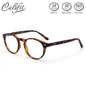 Image 1 - CALIFIT สุภาพสตรี Optical แว่นตาสีกรอบแว่นตา Progressive แว่นตาผู้หญิงเลนส์สายตา
