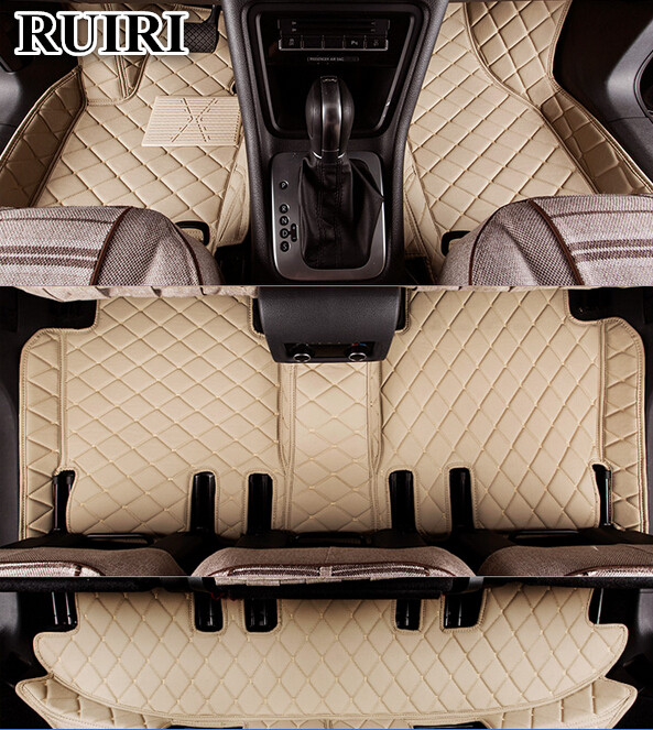 Good quality mats! Custom special floor mats for Land Rover Discovery 3 2009 2004 7 seats wear resisting carpets,Free shipping