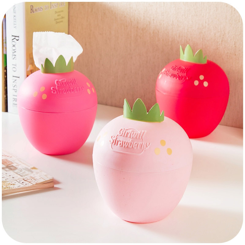 strawberry season candy color roll towel pumping paper towel tube thickened circular living room toilet tissue