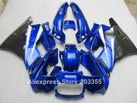 Blue for HONDA CBR 600 F2 1994 1993 1992 1991 Abs Fairings cbr600 ( + White Customize ) fairing kit 94 93 92 91 xl75