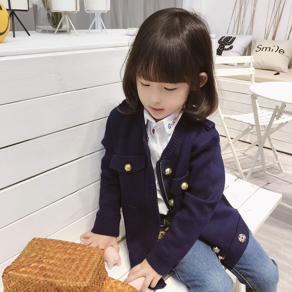 Kids jacket blazer coat knitting outwear solid navy color boys girls jacket Gold button knitted jacket marmot storm shield jacket bright navy