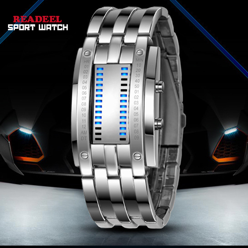 Men Watches Skmei Fashion Brand Design Wristwatches For Men Women lovers Led Digital Stainless Steel Vogue Watch Relojes Hombre
