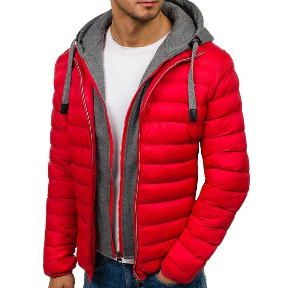 Winter Jacket Men Fashion Stand Collar 1